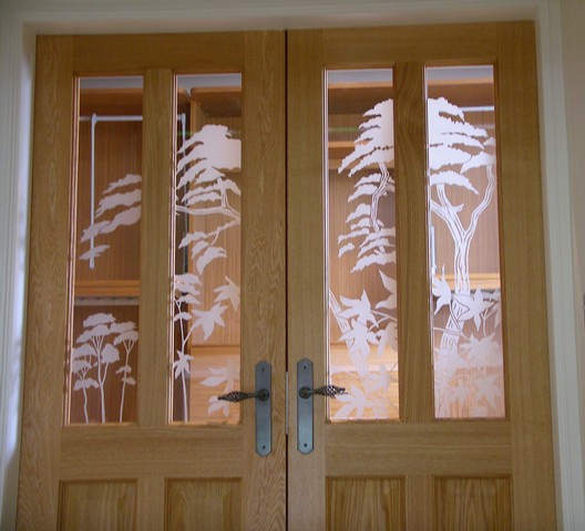 Decorative Glass Design Gallery Etched Painted Fused